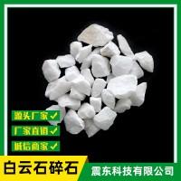 辽宁海城厂家直销50-80目白云石碎石雪花白建筑耐火材料玻璃