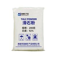 【源头厂家】 优质滑石粉600目 白度92%现货批发滑石粉
