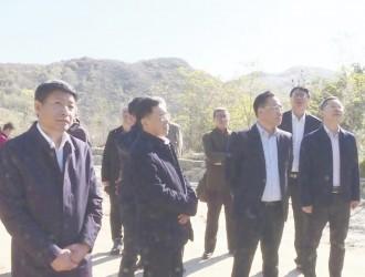 省政府副秘书长来海调研菱镁产业持续健康发展工作开展情况